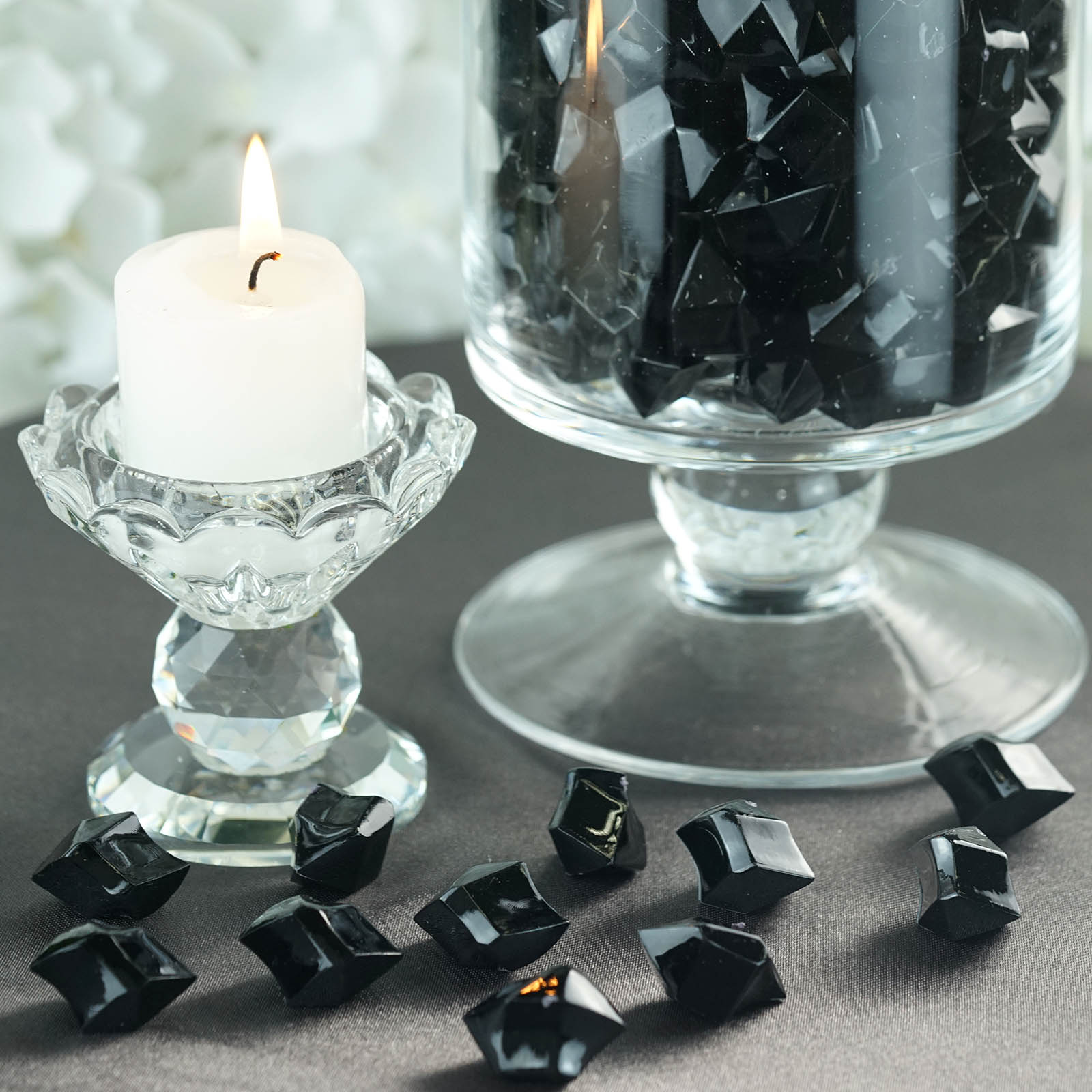 300-Acrylic-Ice-CRYSTAL-LIKE-Pieces-Wedding-Centerpieces-Decorations-Supplies thumbnail 8