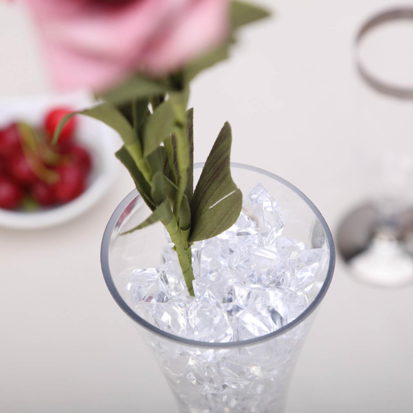 300-Acrylic-Ice-CRYSTAL-LIKE-Pieces-Wedding-Centerpieces-Decorations-Supplies thumbnail 22
