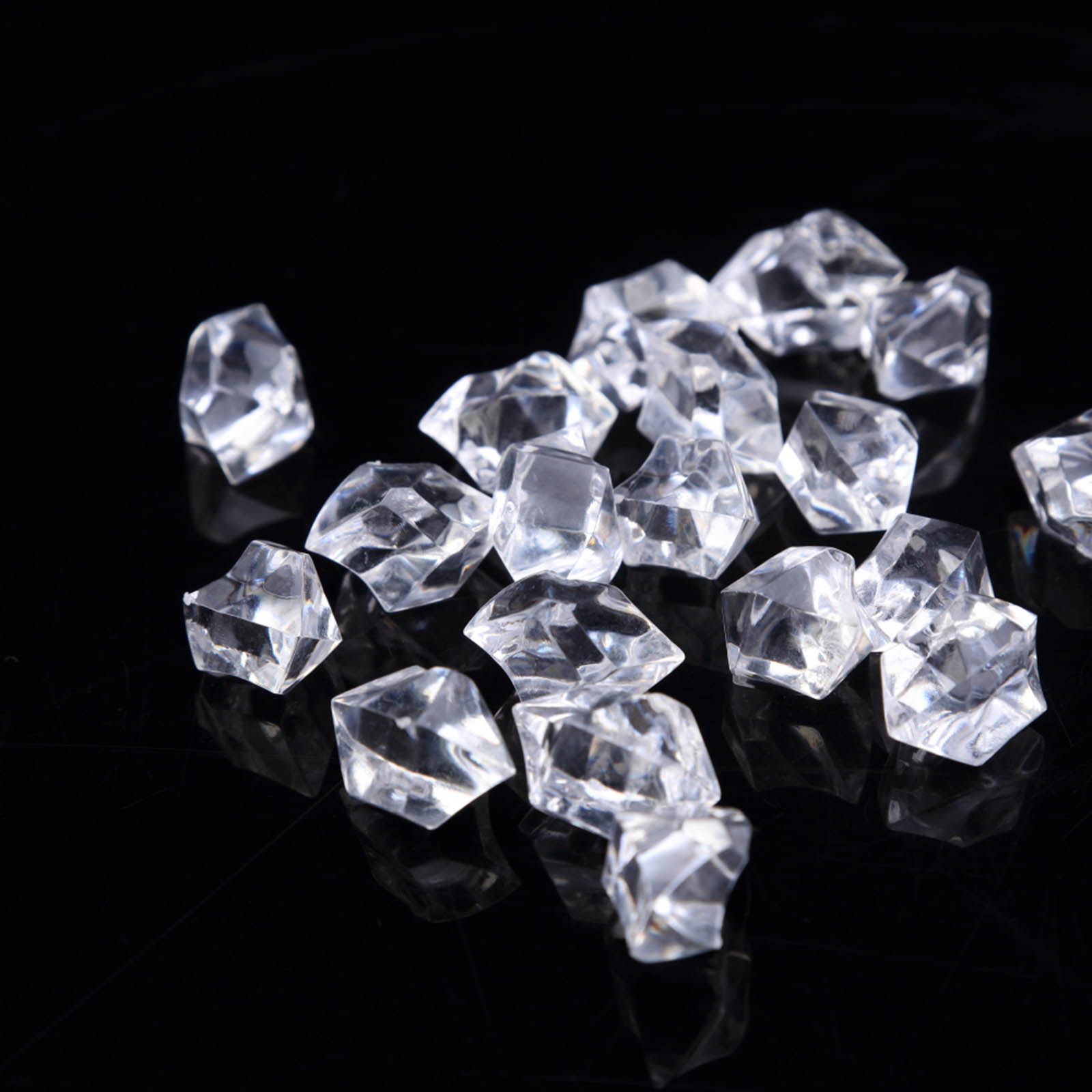 300-Acrylic-Ice-CRYSTAL-LIKE-Pieces-Wedding-Centerpieces-Decorations-Supplies thumbnail 23