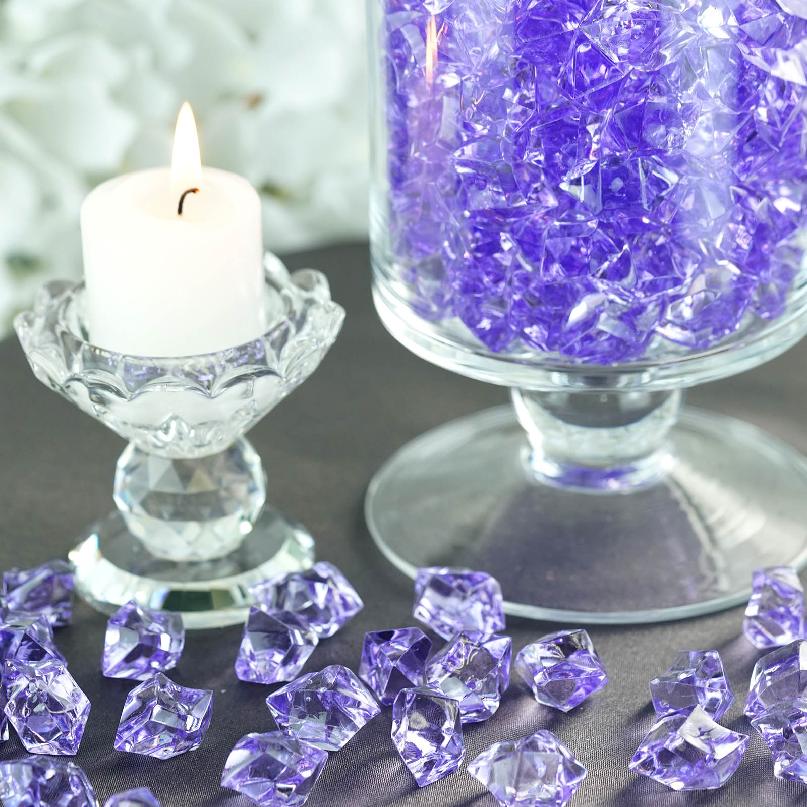 300-Acrylic-Ice-CRYSTAL-LIKE-Pieces-Wedding-Centerpieces-Decorations-Supplies thumbnail 38