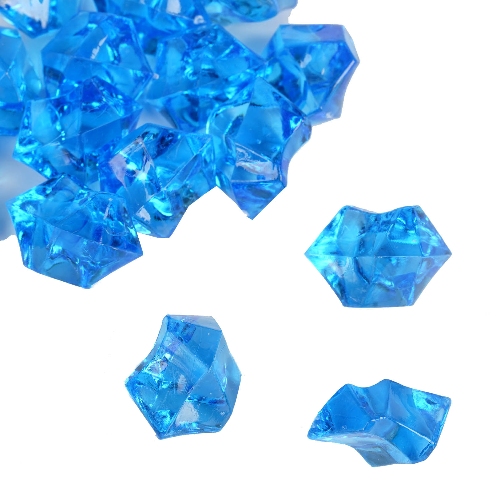 300-Acrylic-Ice-CRYSTAL-LIKE-Pieces-Wedding-Centerpieces-Decorations-Supplies thumbnail 57