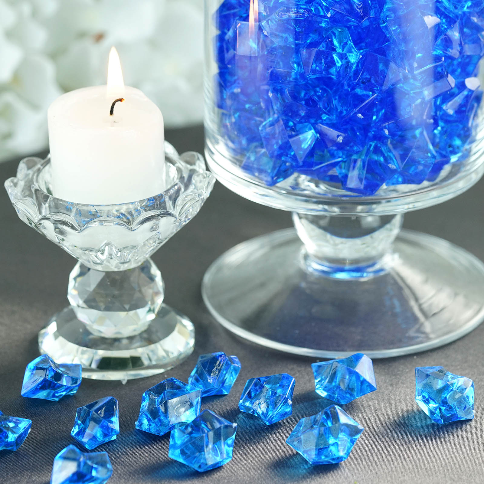 300-Acrylic-Ice-CRYSTAL-LIKE-Pieces-Wedding-Centerpieces-Decorations-Supplies thumbnail 58