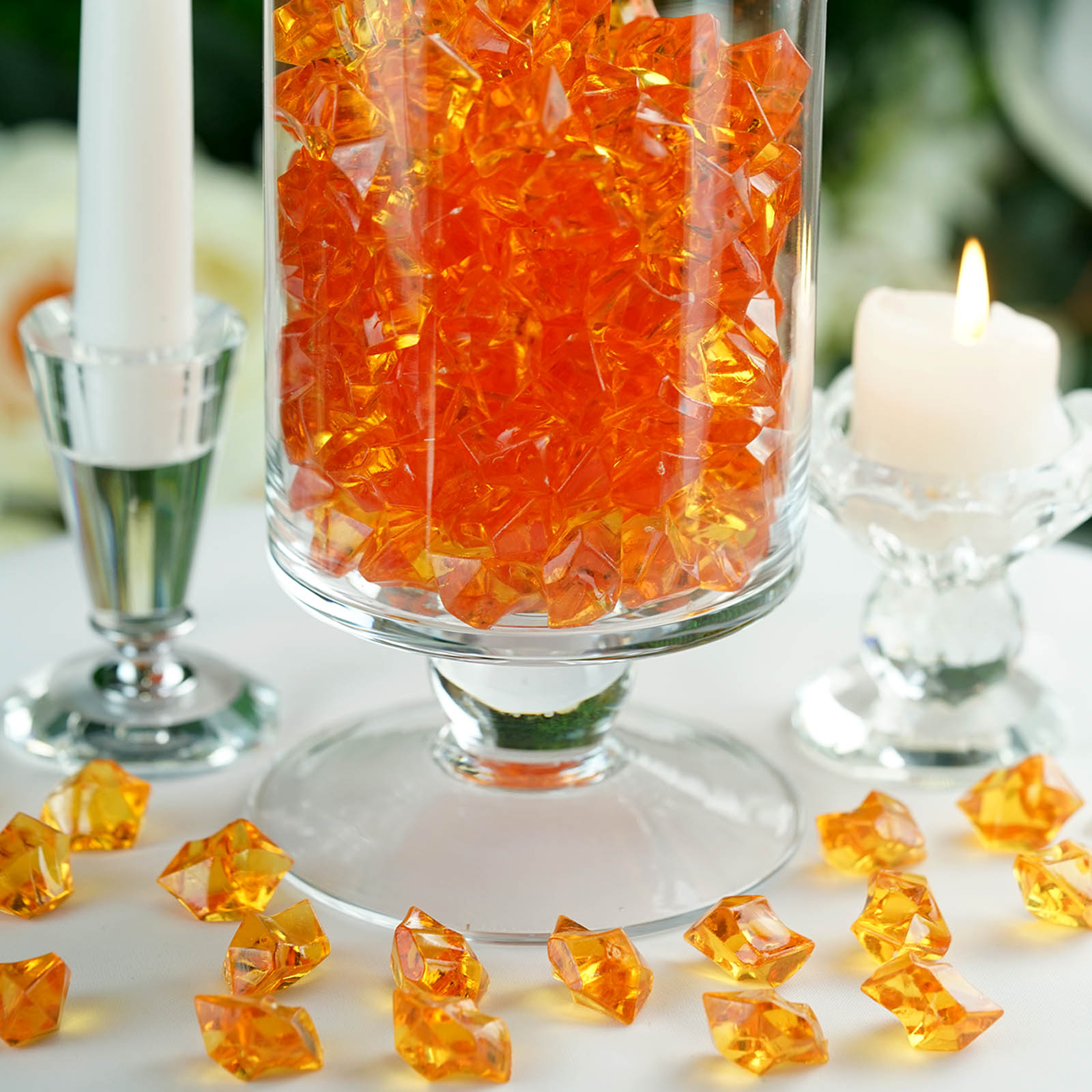 300-Acrylic-Ice-CRYSTAL-LIKE-Pieces-Wedding-Centerpieces-Decorations-Supplies thumbnail 42