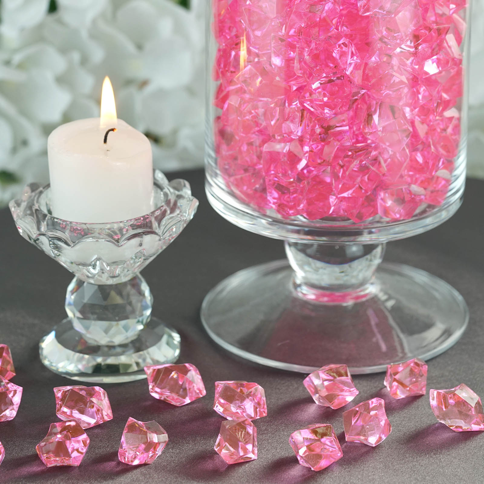 300-Acrylic-Ice-CRYSTAL-LIKE-Pieces-Wedding-Centerpieces-Decorations-Supplies thumbnail 47