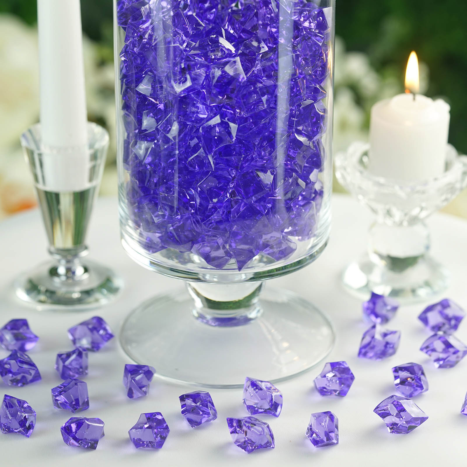 300-Acrylic-Ice-CRYSTAL-LIKE-Pieces-Wedding-Centerpieces-Decorations-Supplies thumbnail 51