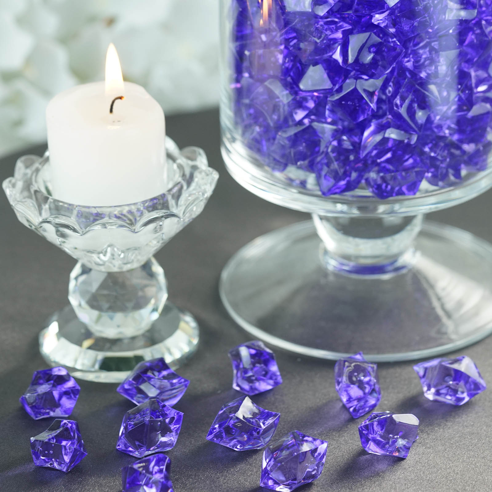 300-Acrylic-Ice-CRYSTAL-LIKE-Pieces-Wedding-Centerpieces-Decorations-Supplies thumbnail 50