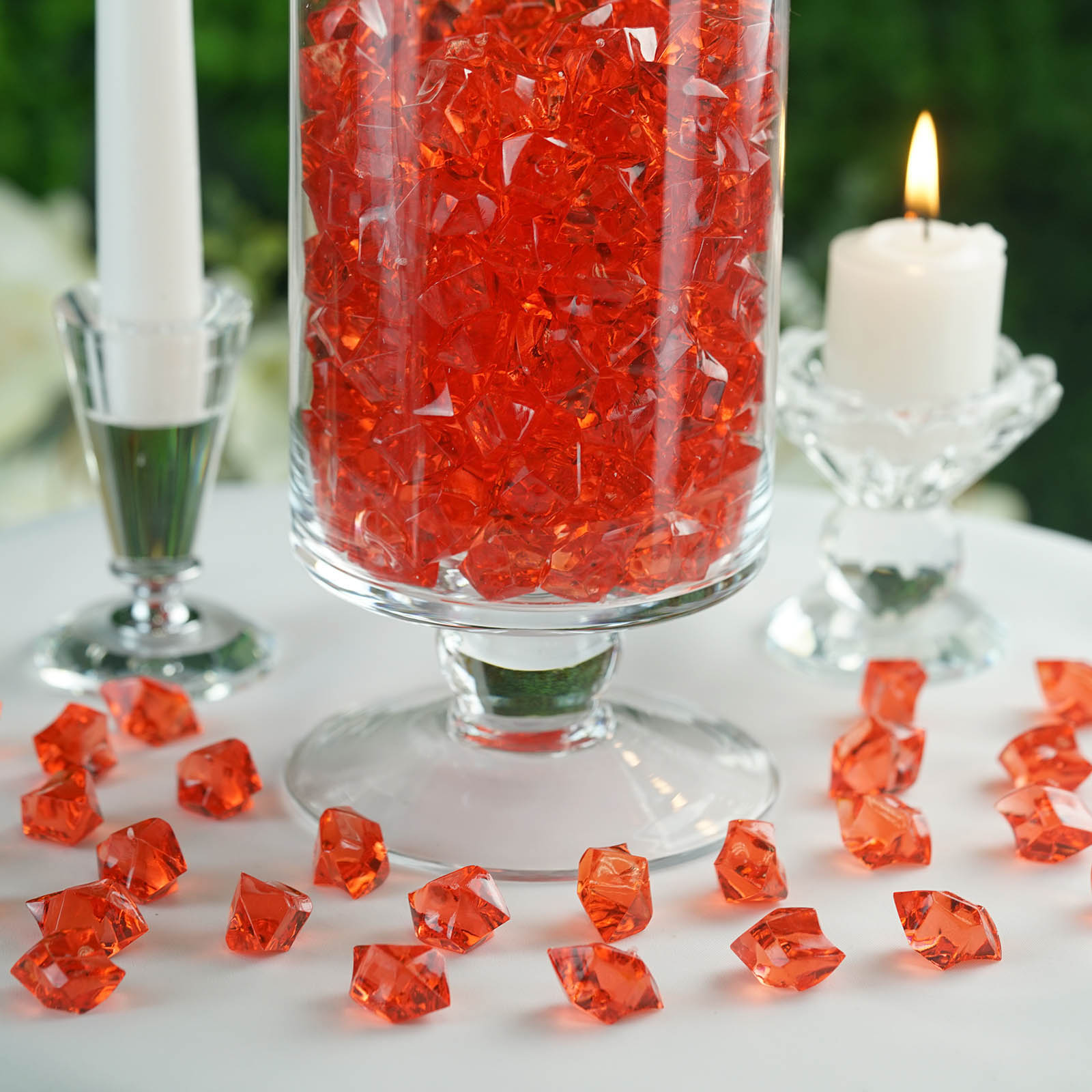 300-Acrylic-Ice-CRYSTAL-LIKE-Pieces-Wedding-Centerpieces-Decorations-Supplies thumbnail 54
