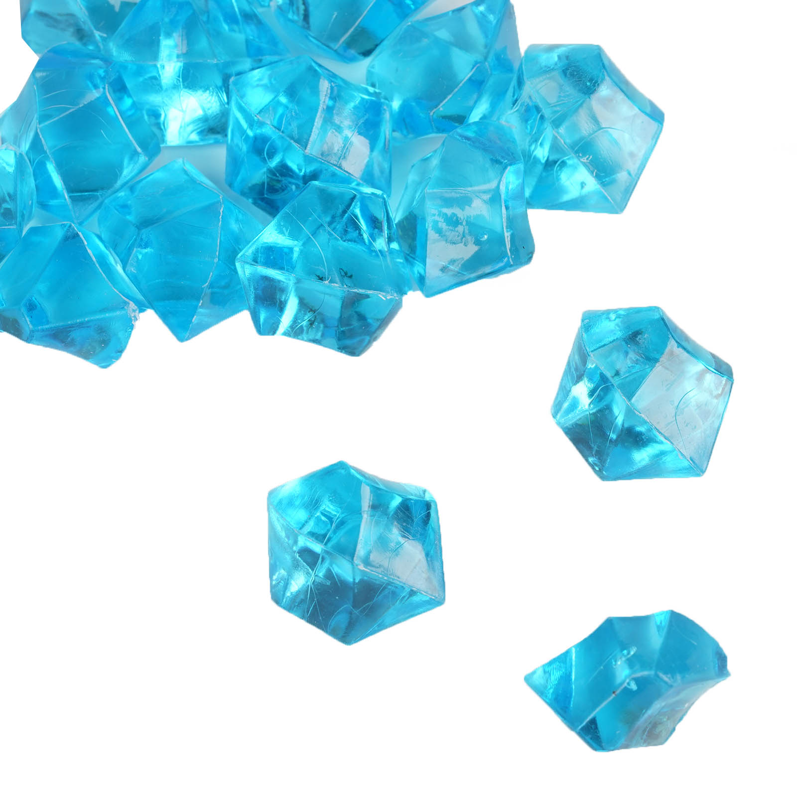 300-Acrylic-Ice-CRYSTAL-LIKE-Pieces-Wedding-Centerpieces-Decorations-Supplies thumbnail 61