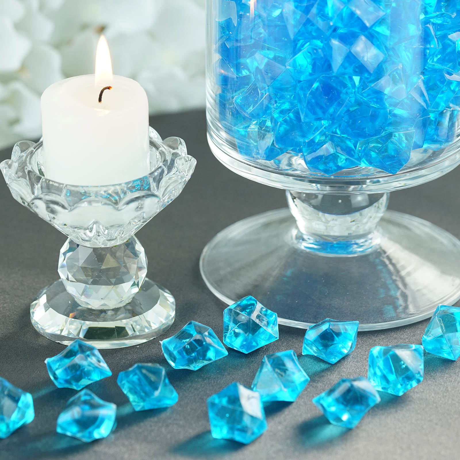 300-Acrylic-Ice-CRYSTAL-LIKE-Pieces-Wedding-Centerpieces-Decorations-Supplies thumbnail 62