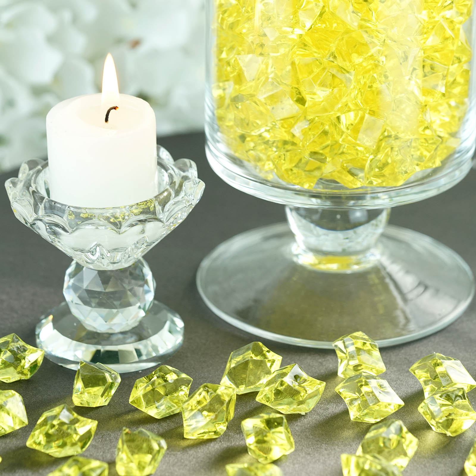 300-Acrylic-Ice-CRYSTAL-LIKE-Pieces-Wedding-Centerpieces-Decorations-Supplies thumbnail 66