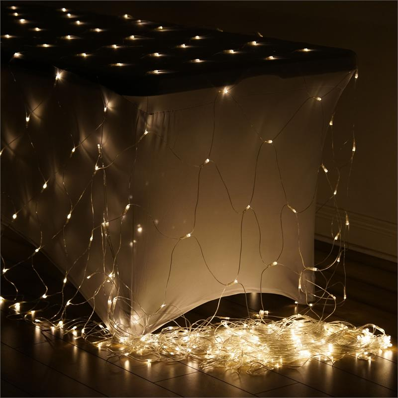 20 Ft X 10 Ft LED Lights BACKDROP Wedding Party Ceremony