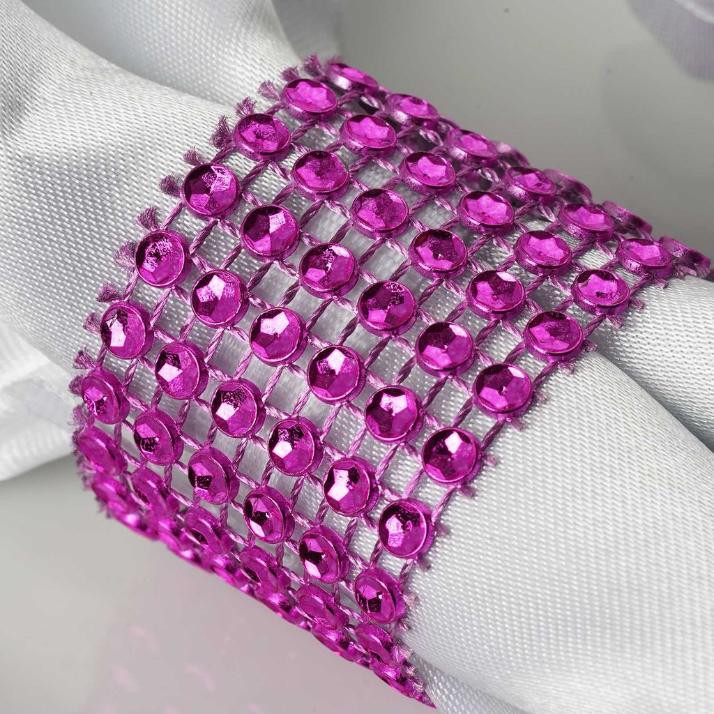 NAPKINS RINGS Diamond Wedding Party Kitchen Catering Banquet Dinner ...