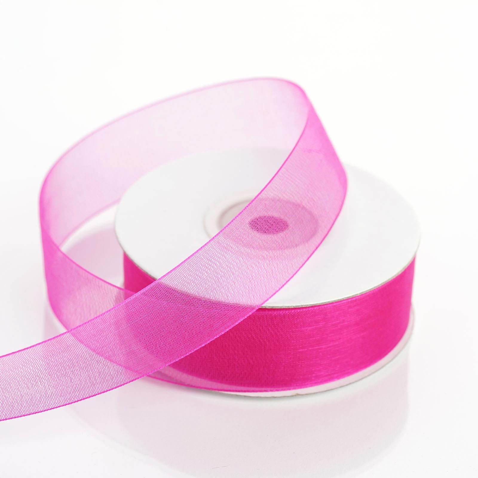 7-8-034-x-25-yrd-Mono-Edge-Organza-RIBBON-Wedding-FAVORS-Crafts-Invitations-Sewing thumbnail 13