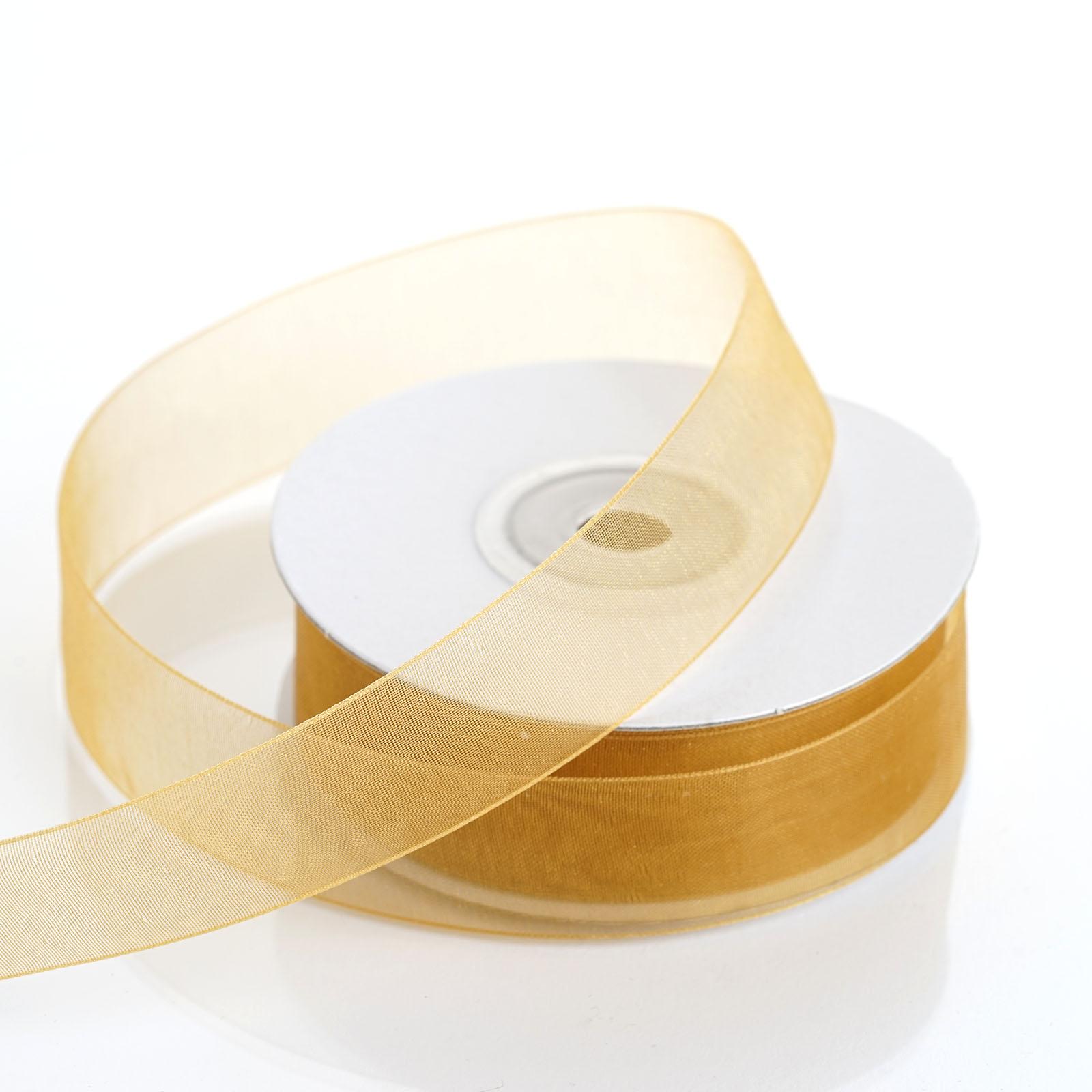 7-8-034-x-25-yrd-Mono-Edge-Organza-RIBBON-Wedding-FAVORS-Crafts-Invitations-Sewing thumbnail 15