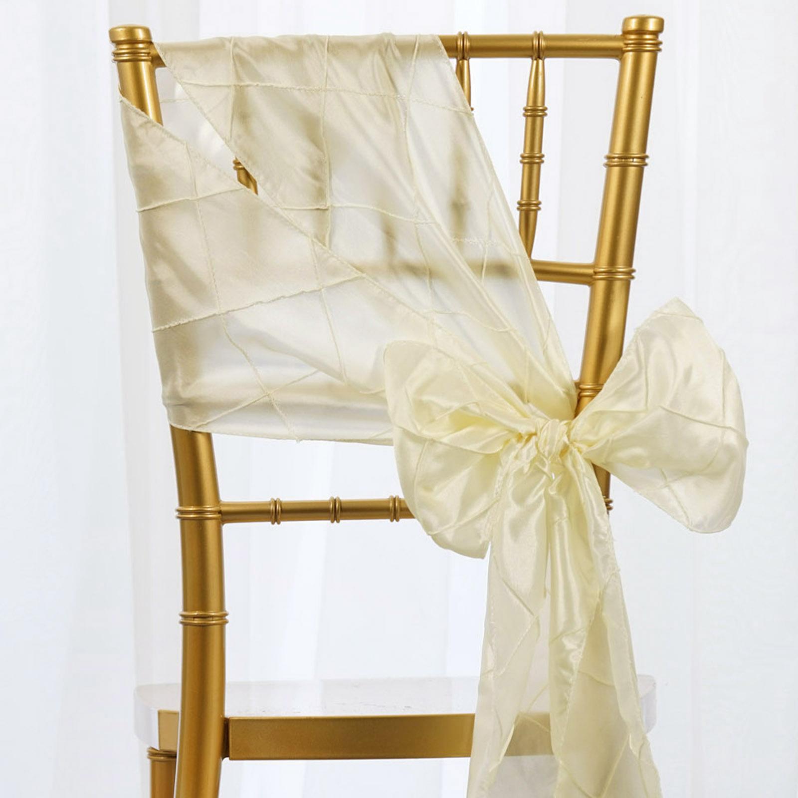 sashp ptk ivr  01 - Cheap Wedding Chair Sashes