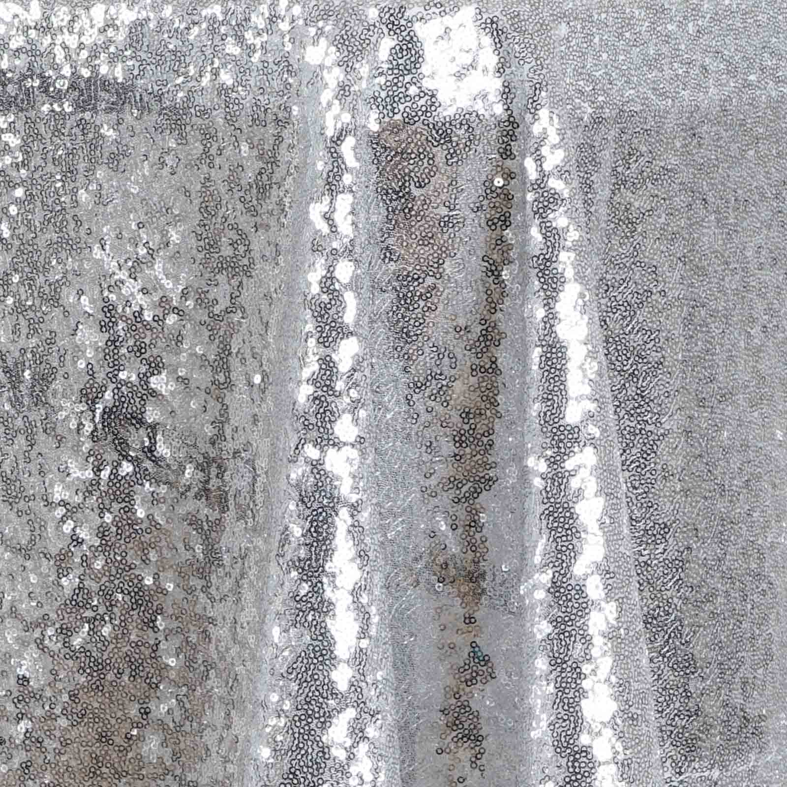 Sequin-RECTANGULAR-Tablecloth-Dinner-Wedding-Linens-Party-Decorations-Wholesale thumbnail 35