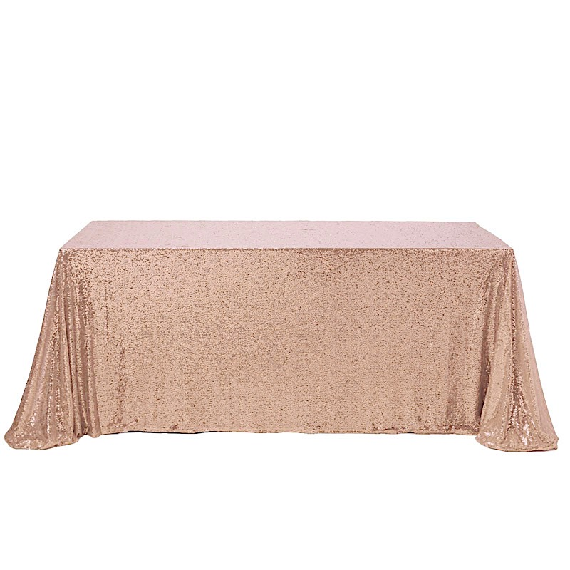 Sequin-RECTANGULAR-Tablecloth-Dinner-Wedding-Linens-Party-Decorations-Wholesale thumbnail 9