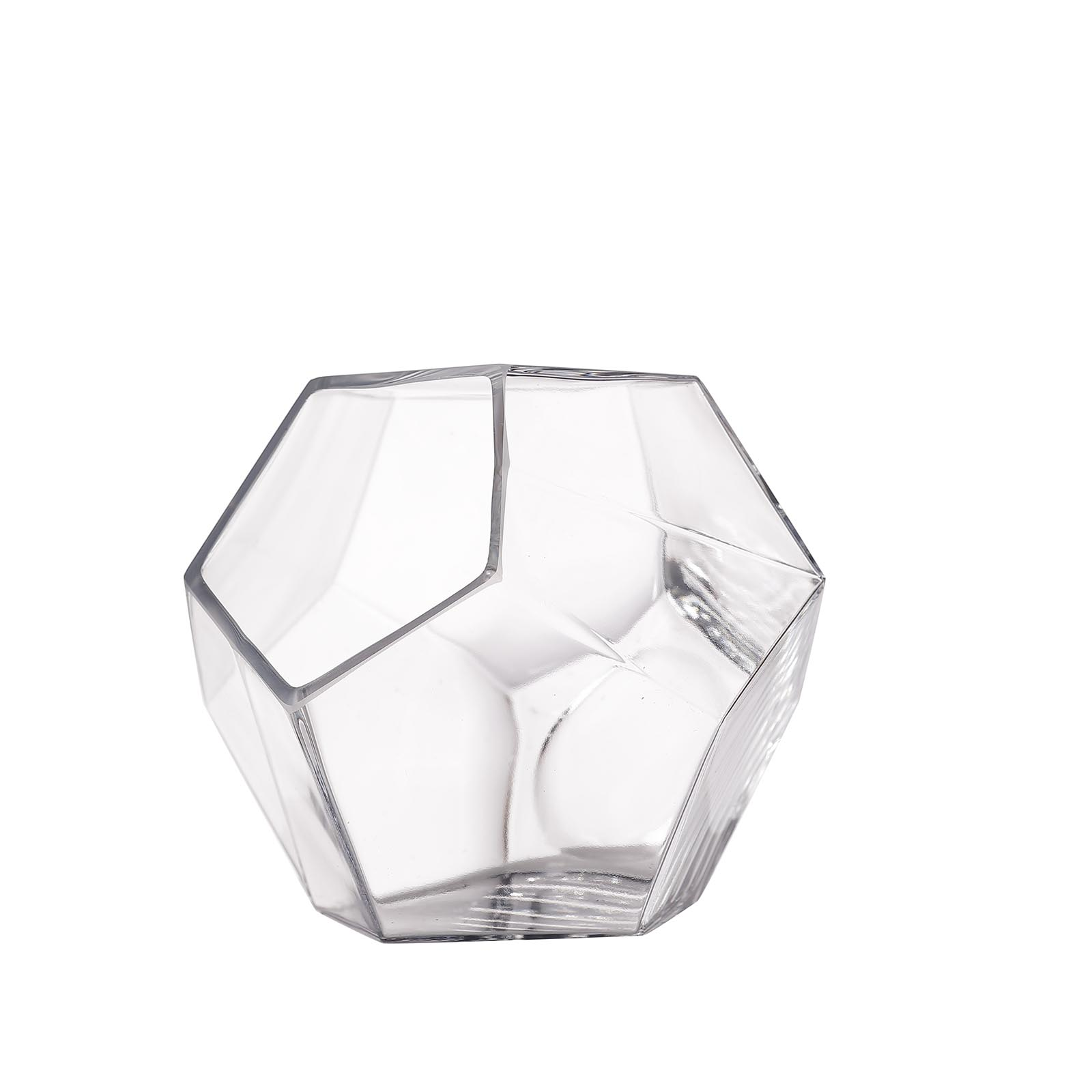 Clear 7 Glass Geometric Terrarium Centerpiece Vases Wedding Party Supplies Sale Ebay