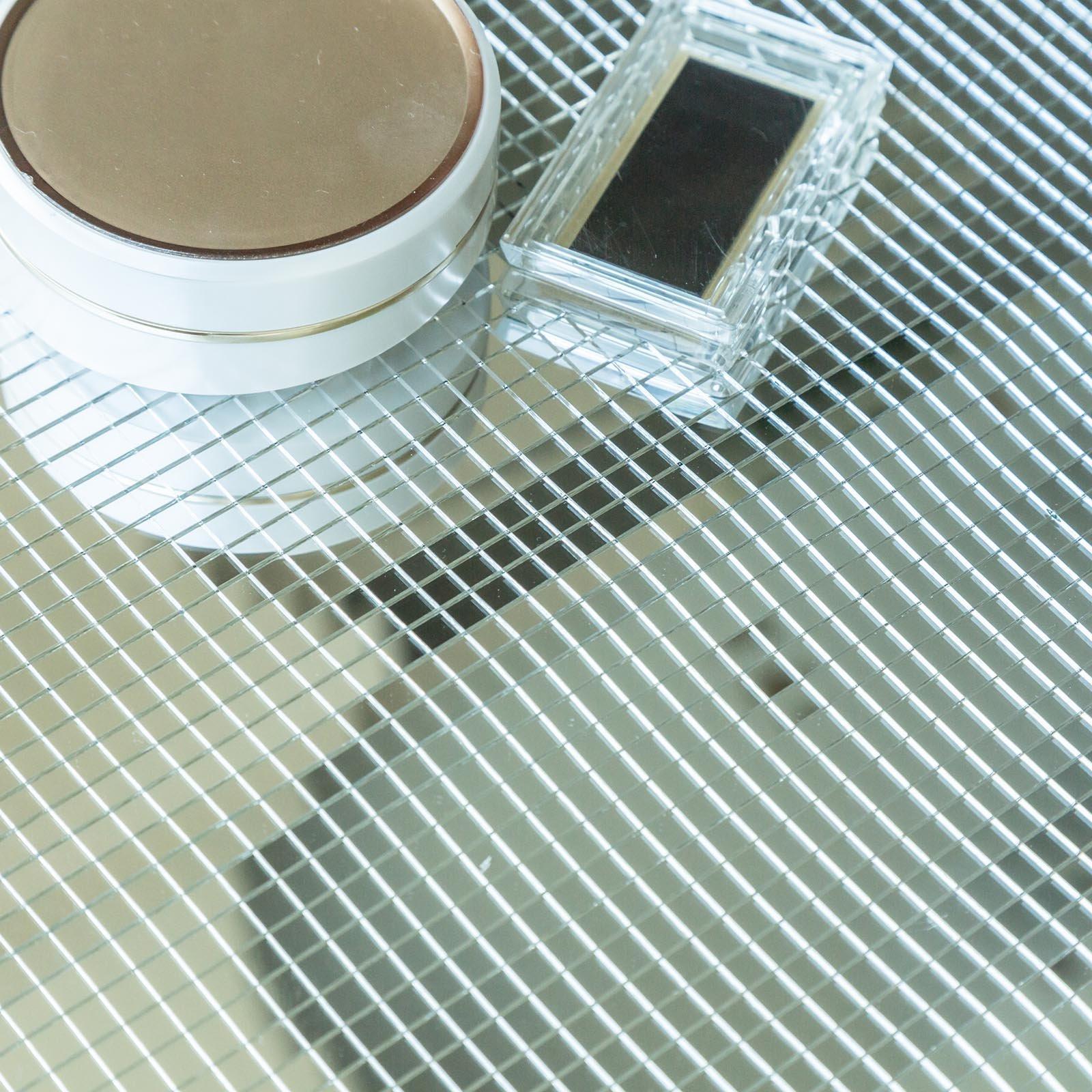 WALL PANELS 10 sq ft Mirror Mosaic Tiles 3D Backdrop DIY ...