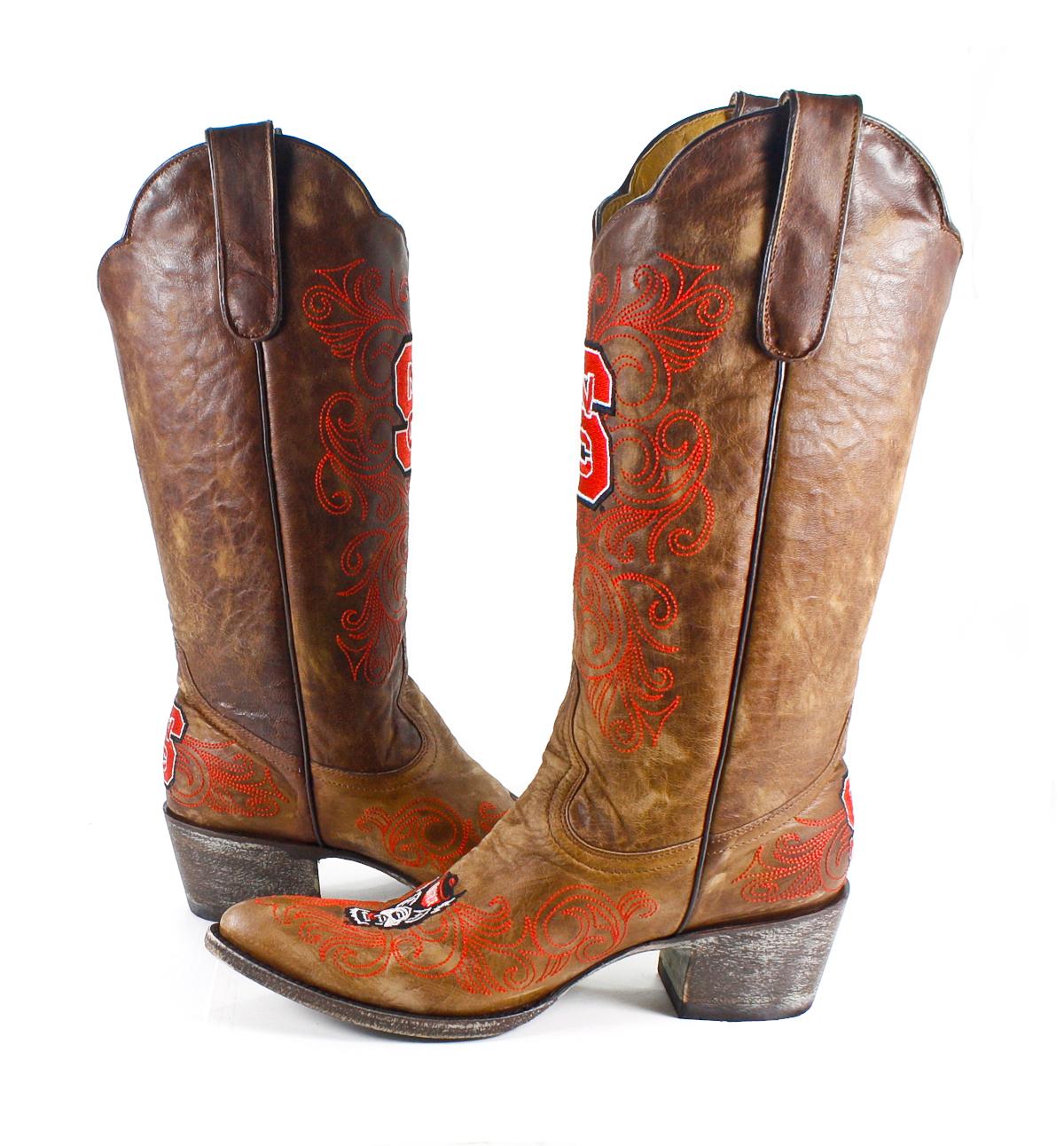 North Carolina State University Gameday Boots Womens
