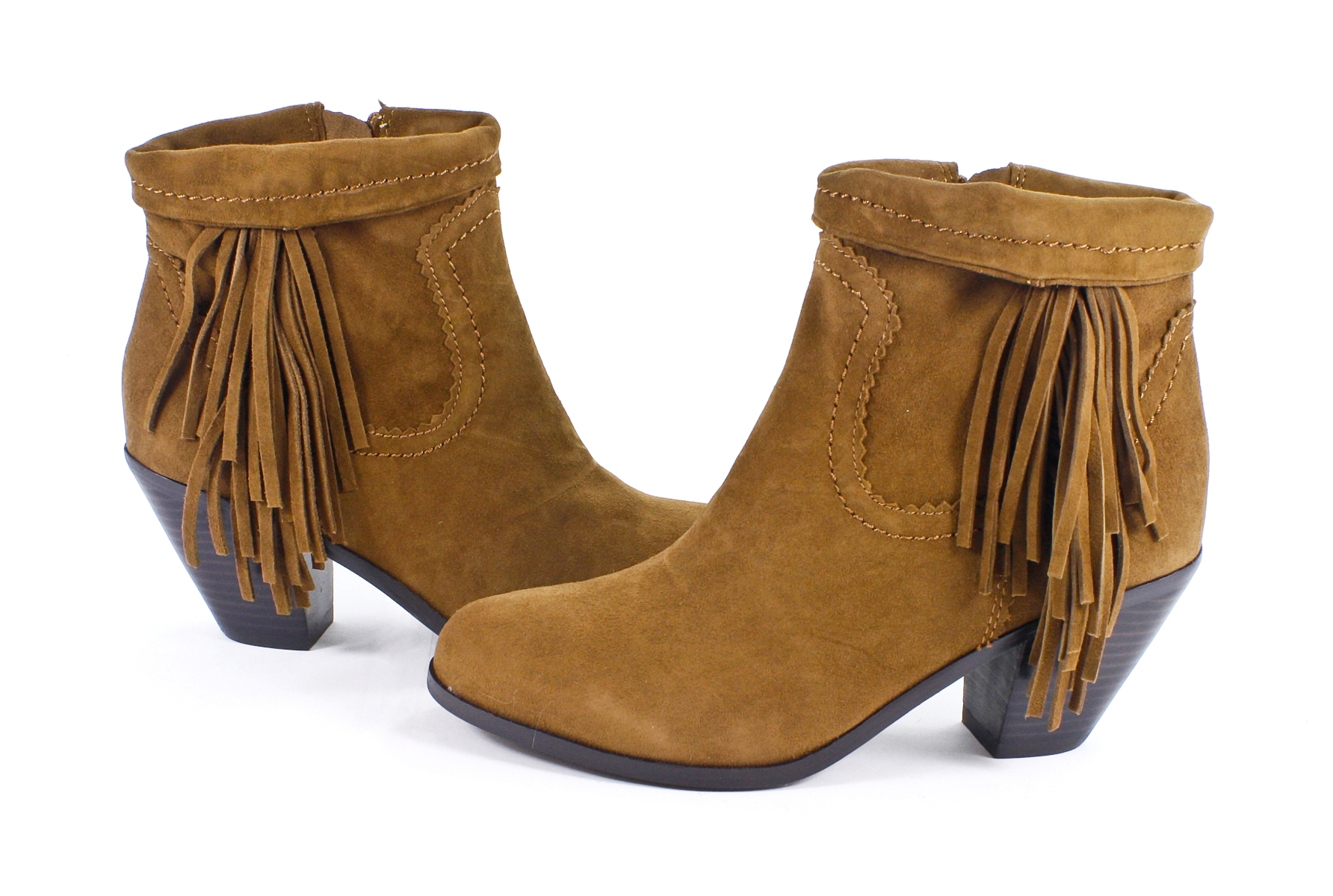 2f527359ba3a Sam Edelman Louie Cocoa Suede Bootie Ankle Boots Shoes 7 New on ...