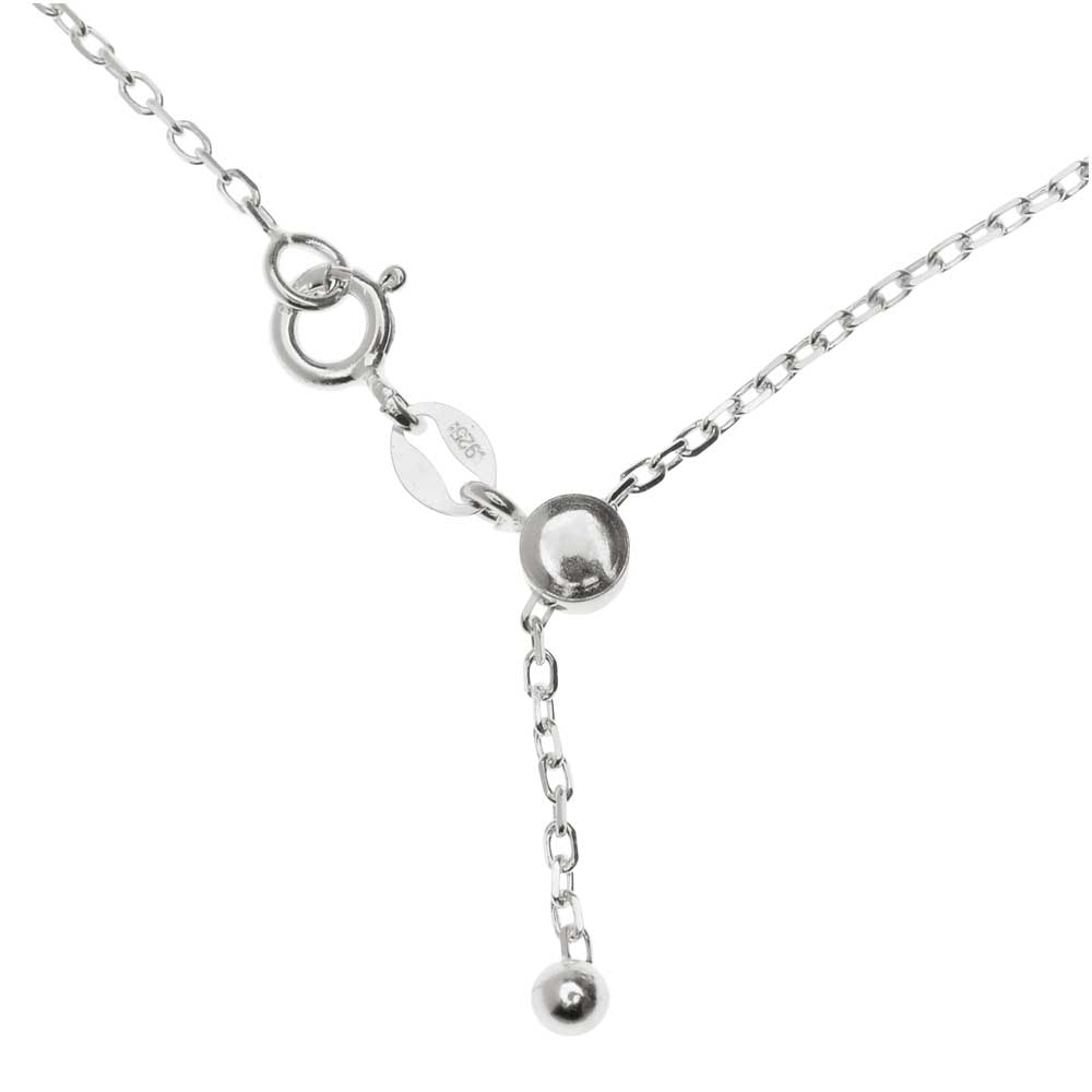 Silver Plated Flat Fine Cable Chain Necklace - 2x1.5mm Oval Links (18 Inches)
