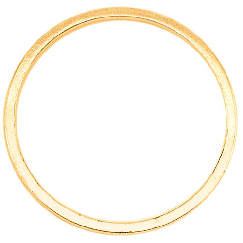 Beadalon Gold Tone Quick Links 25mm Round (18 Pcs)