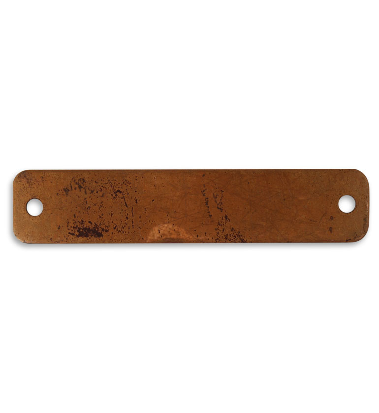 Vintaj Artisan Copper Blank Name Plates For Altered Art Crafts 69x14.5mm (1)