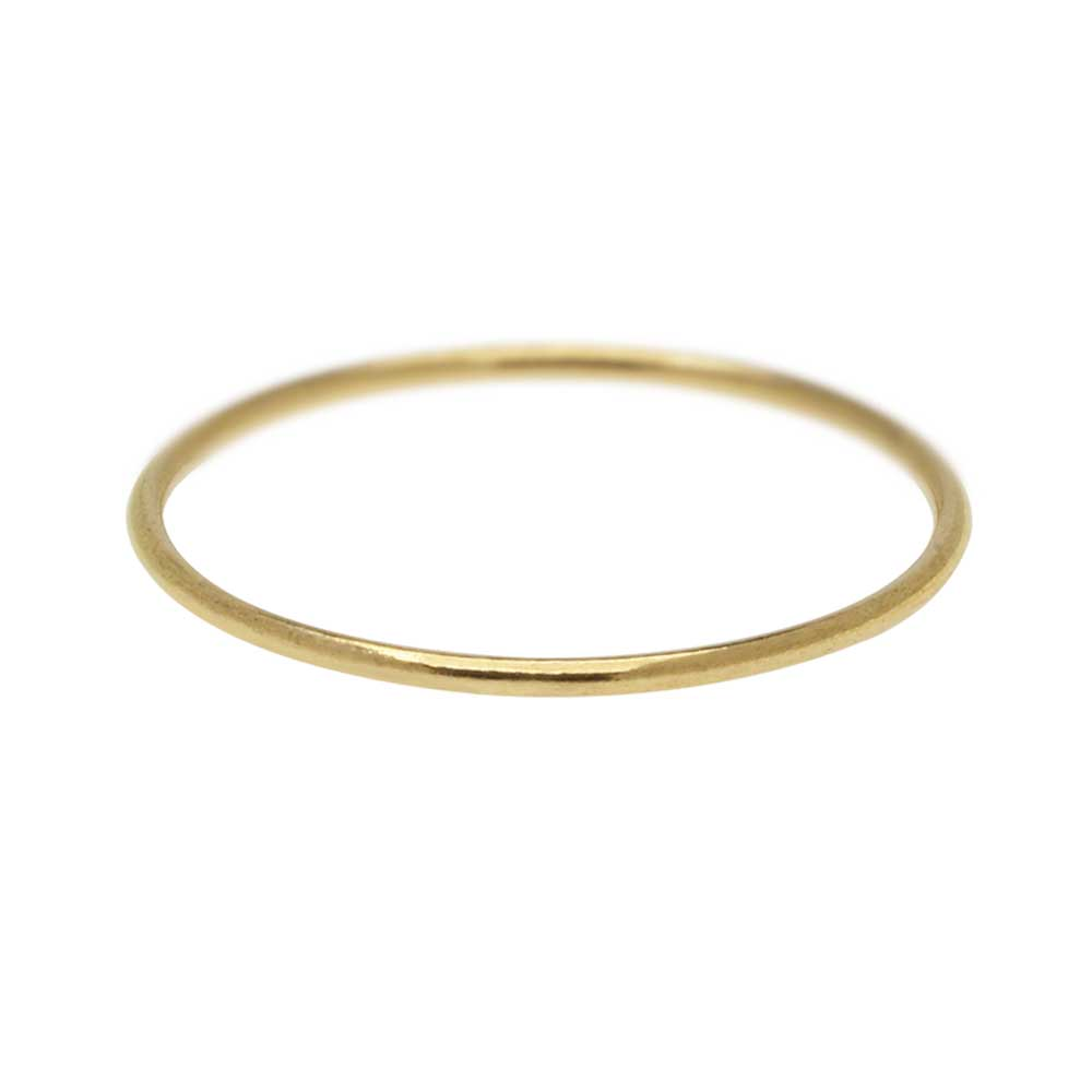 Stacking Ring, 1mm Round Wire / US Size 4, 1 Piece, 14K Gold Filled