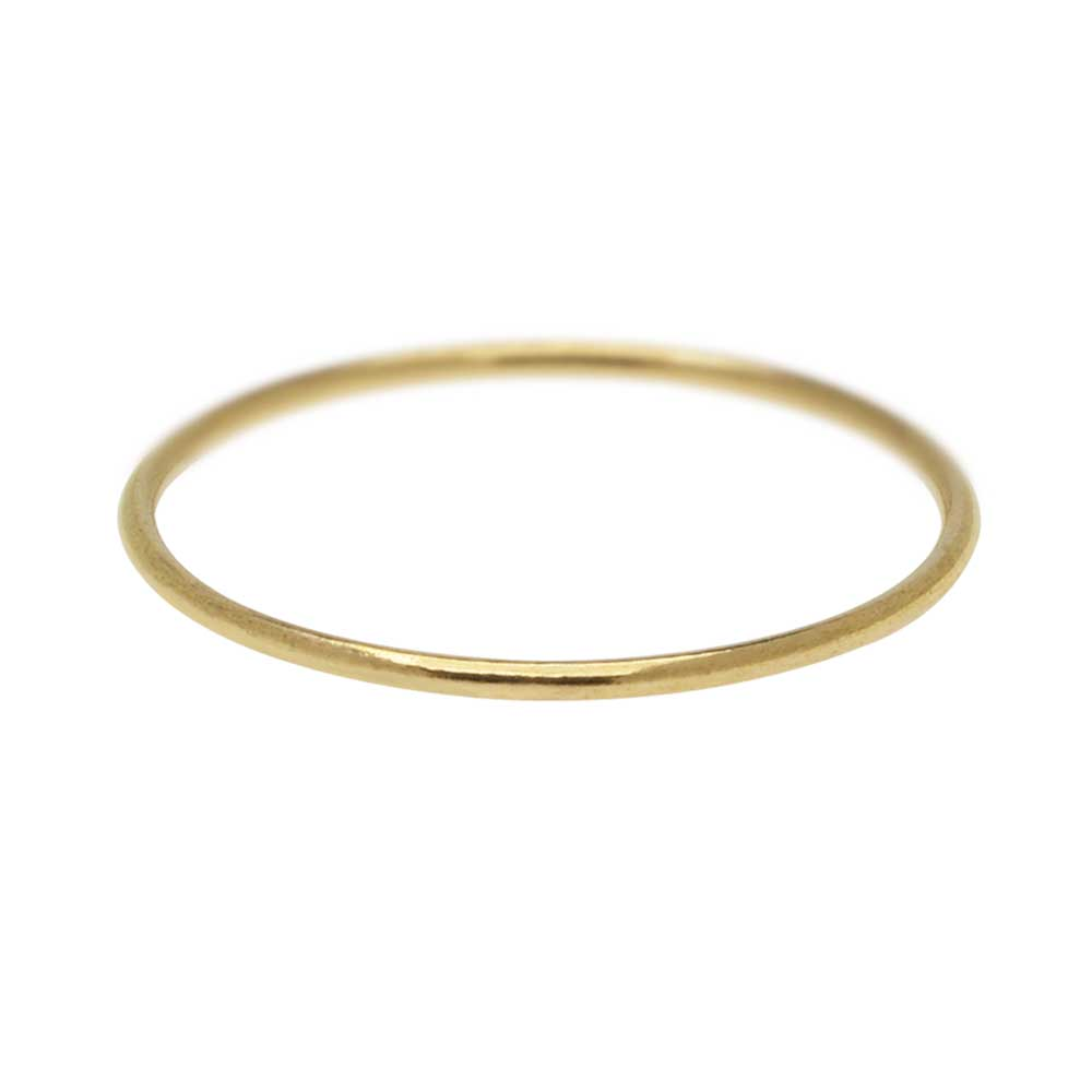 Stacking Ring, 1mm Round Wire / US Size 5, 1 Piece, 14K Gold Filled