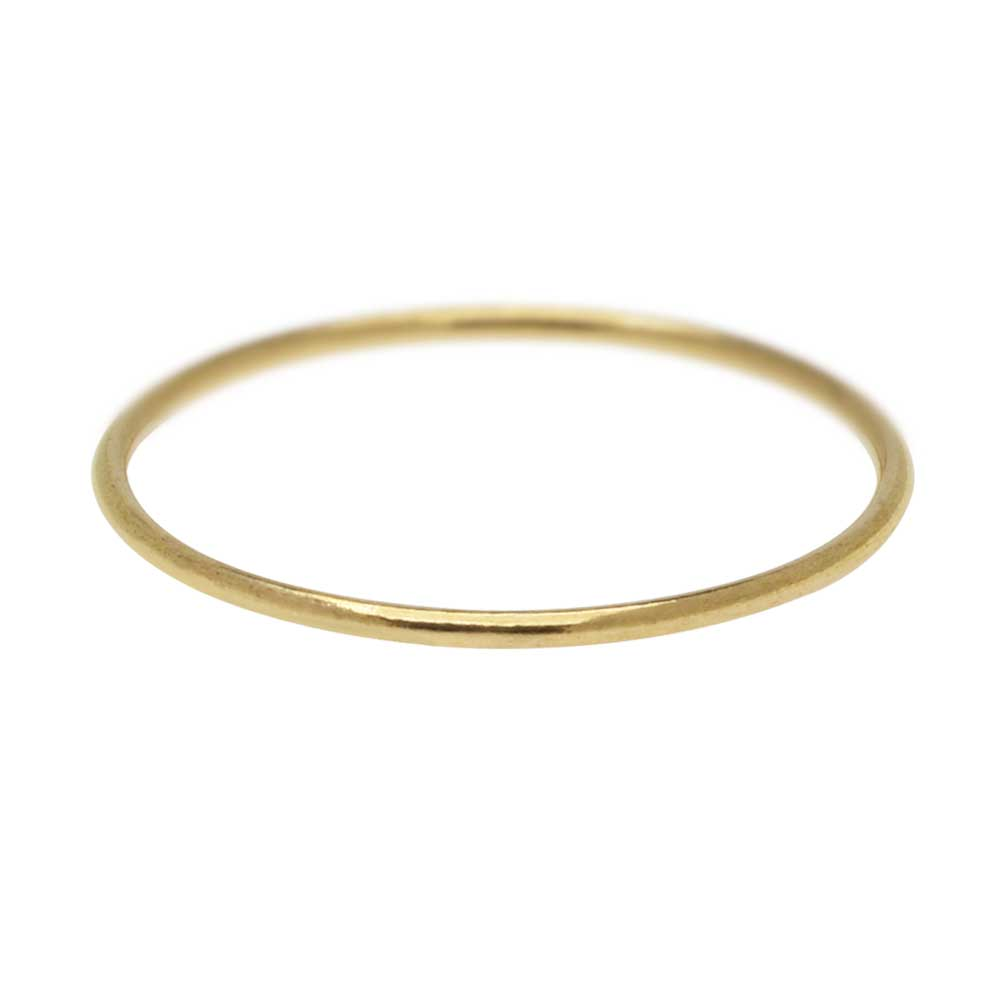 Stacking Ring, 1mm Round Wire / US Size 7, 1 Piece, 14K Gold Filled