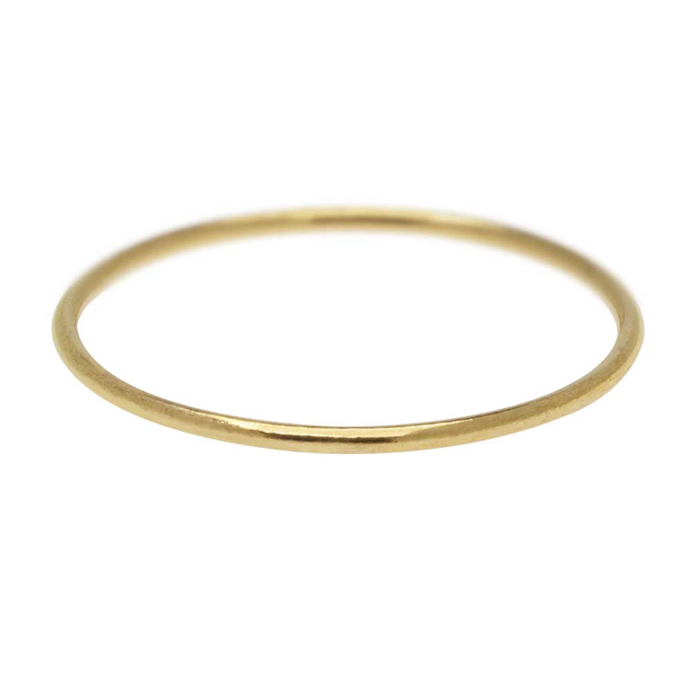 Stacking Ring, 1mm Round Wire / US Size 9, 1 Piece, 14K Gold Filled