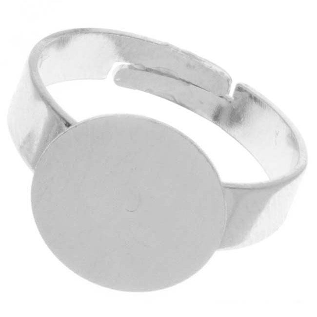 Nickel Alloy Color Adjustable Ring With 12mm Glue On Plate (4)