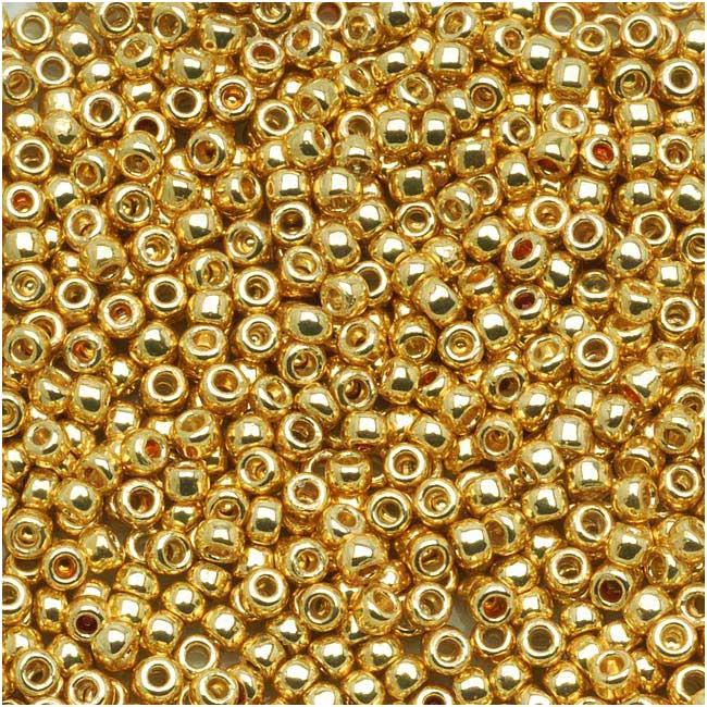 Toho Round Seed Beads 11/0 #PF557 'Galvanized Starlight' 8g