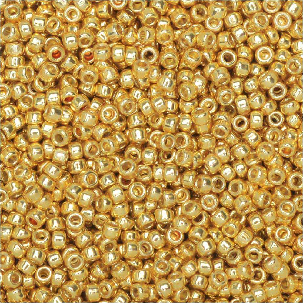 Toho Round Seed Beads 15/0 #PF557 'Galvanized Starlight' 8g