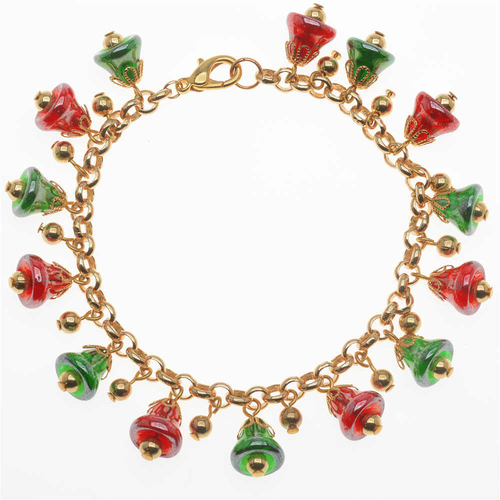 Jingle All the Way Bracelet - Exclusive Beadaholique Jewelry Kit
