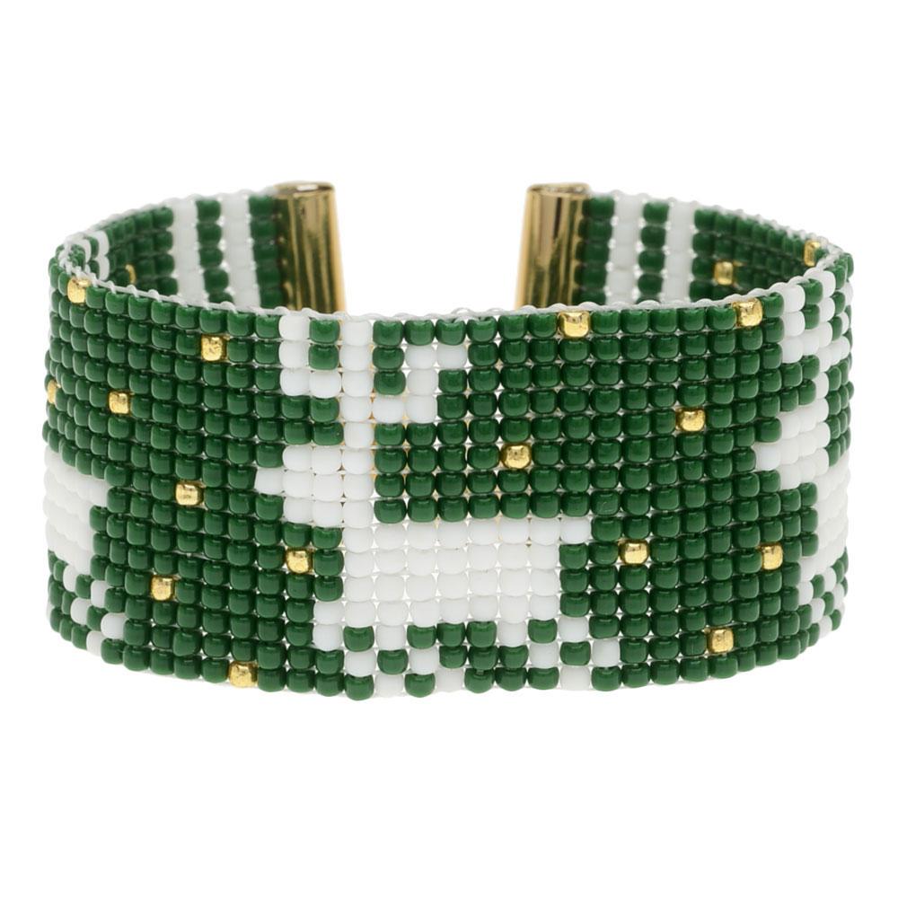 Holiday Reindeer Loom Bracelet - Exclusive Beadaholique Jewelry Kit