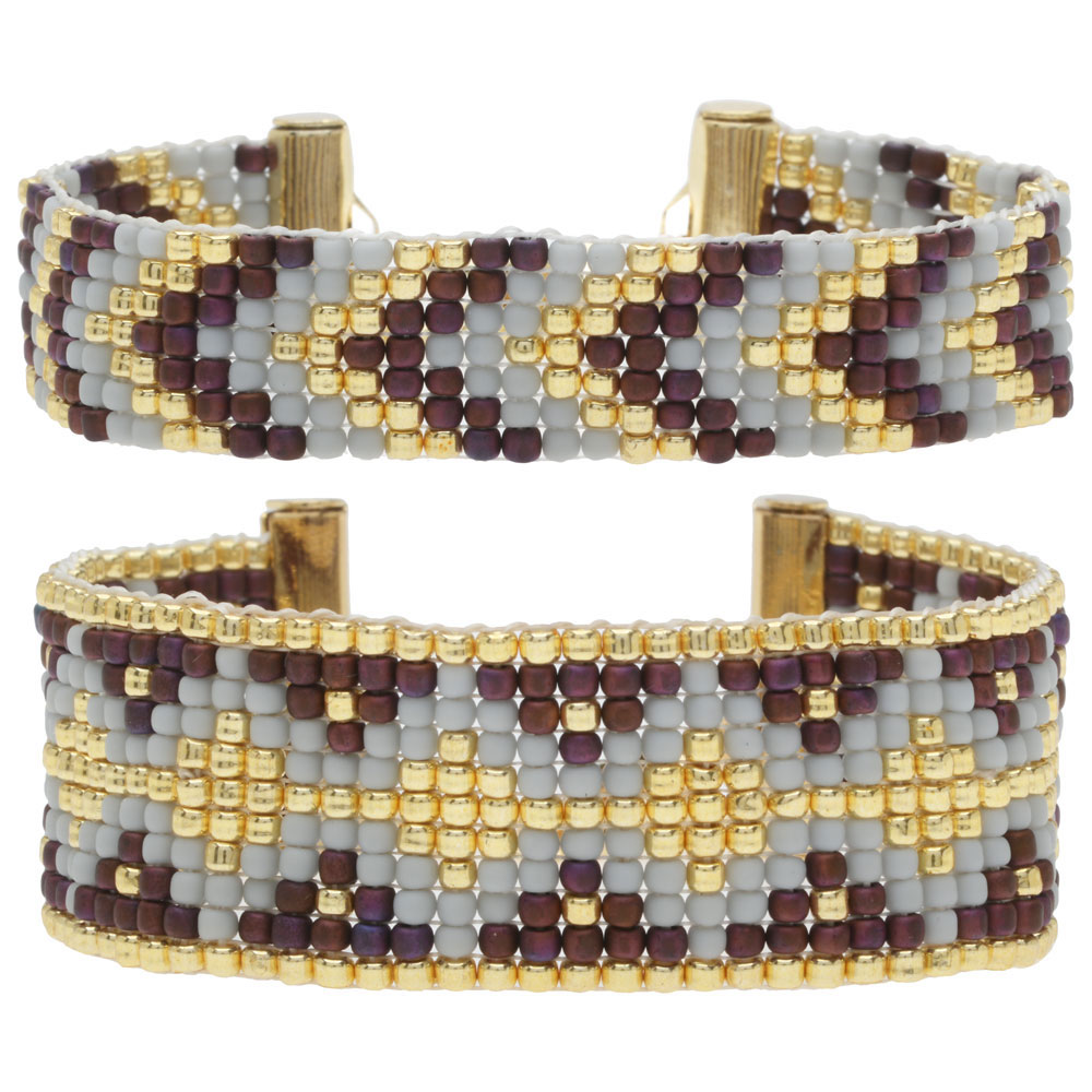 Loom Bracelet Duo - Austen Berry - Exclusive Beadaholique Jewelry Kit