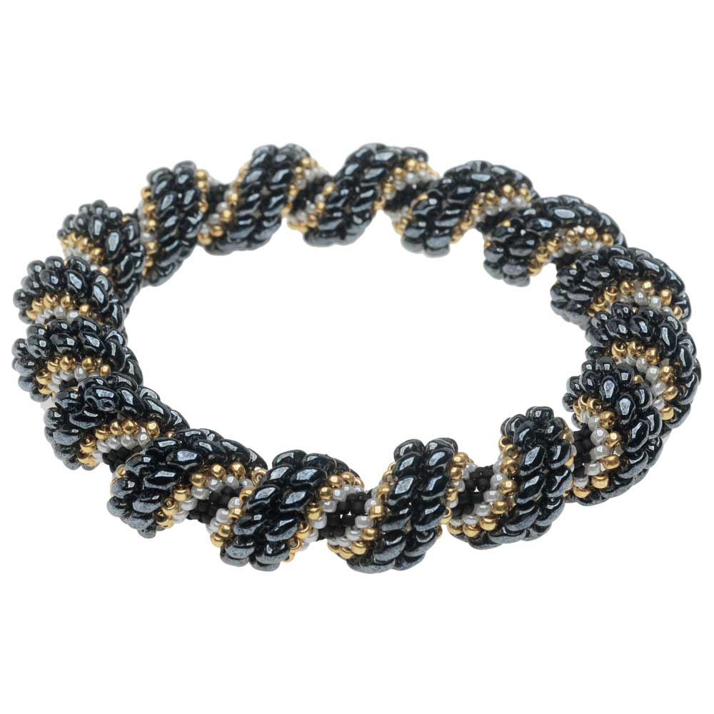 Cellini Spiral Bracelet - New Year's Eve - Exclusive Beadaholique Jewelry Kit