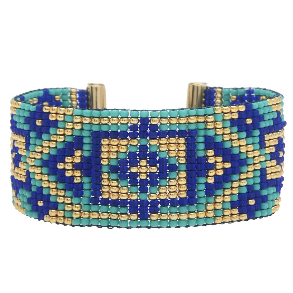 Gulf Shores Loom Bracelet - Exclusive Beadaholique Jewelry Kit