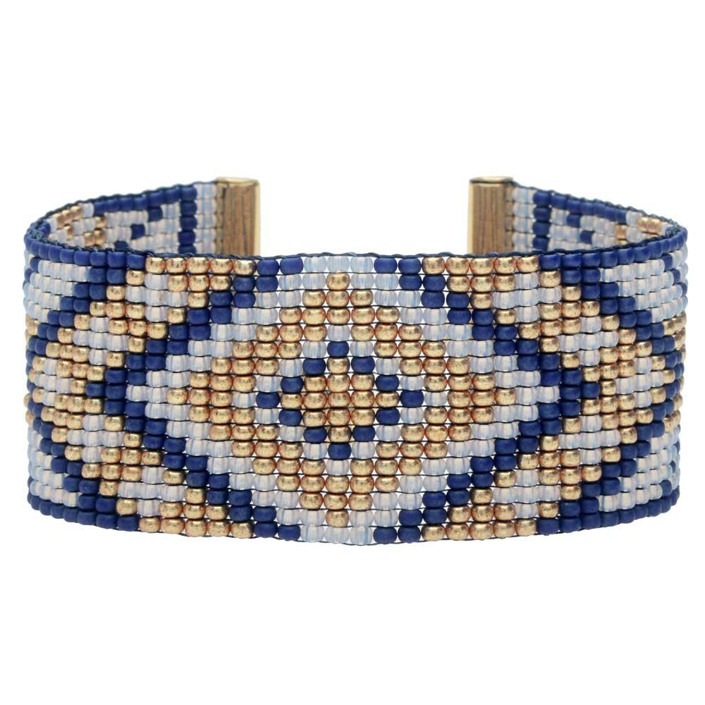 First Snow Loom Bracelet - Exclusive Beadaholique Jewelry Kit