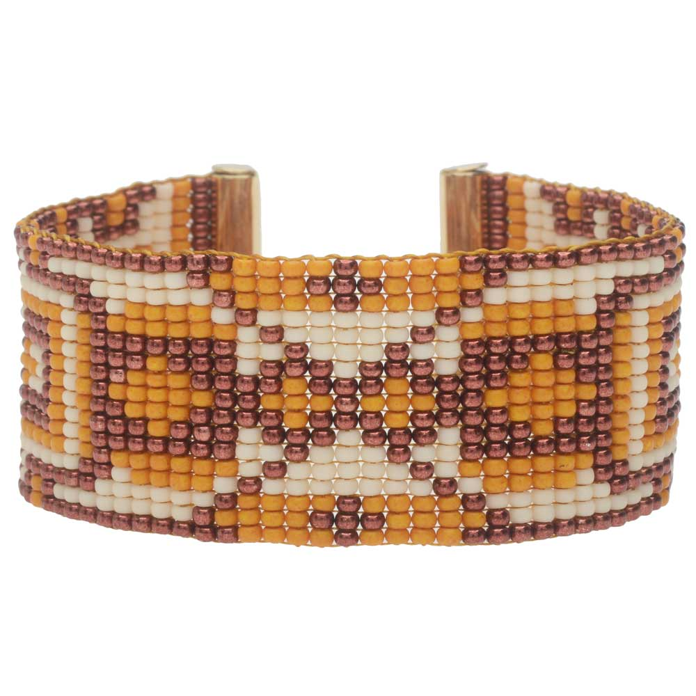 Jackson Hole Loom Bracelet - Exclusive Beadaholique Jewelry Kit