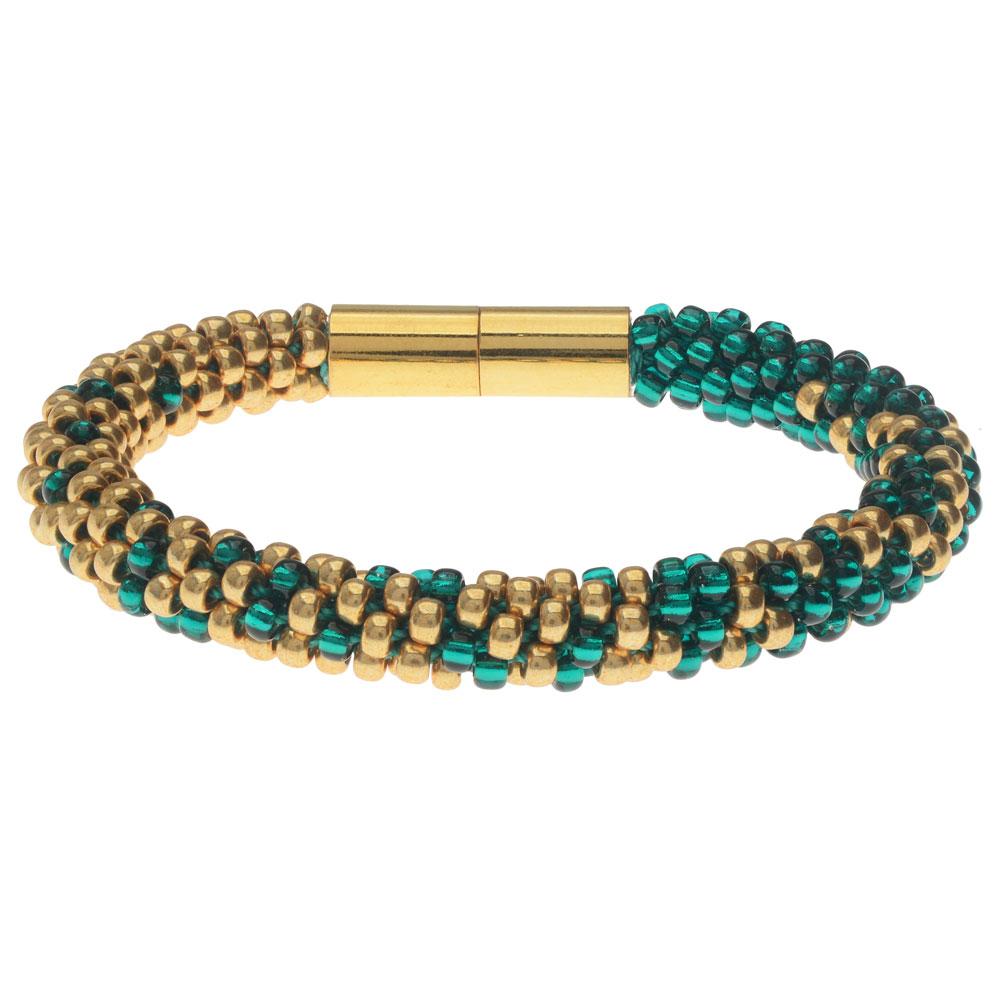 Graduated Kumihimo Bracelet in Luxe - Exclusive Beadaholique Jewelry Kit