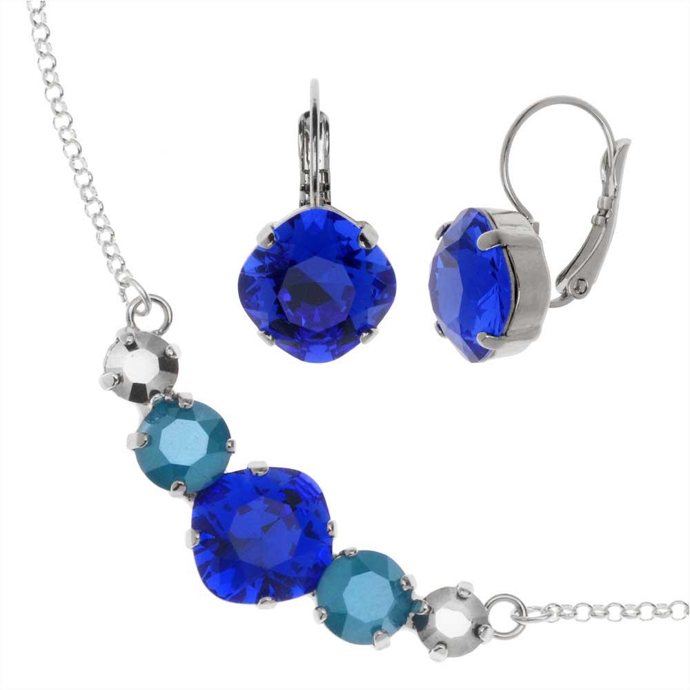 Final Sale - Modern Elegance Jewelry Set -Swarovski Crystal Cocktail Party- Exclusive Beadaholique Jewelry Kit