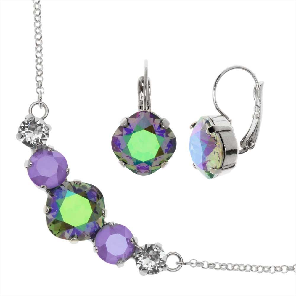 Modern Elegance Jewelry Set with Swarovski Crystals - Art Gala - Exclusive Beadaholique Jewelry Kit