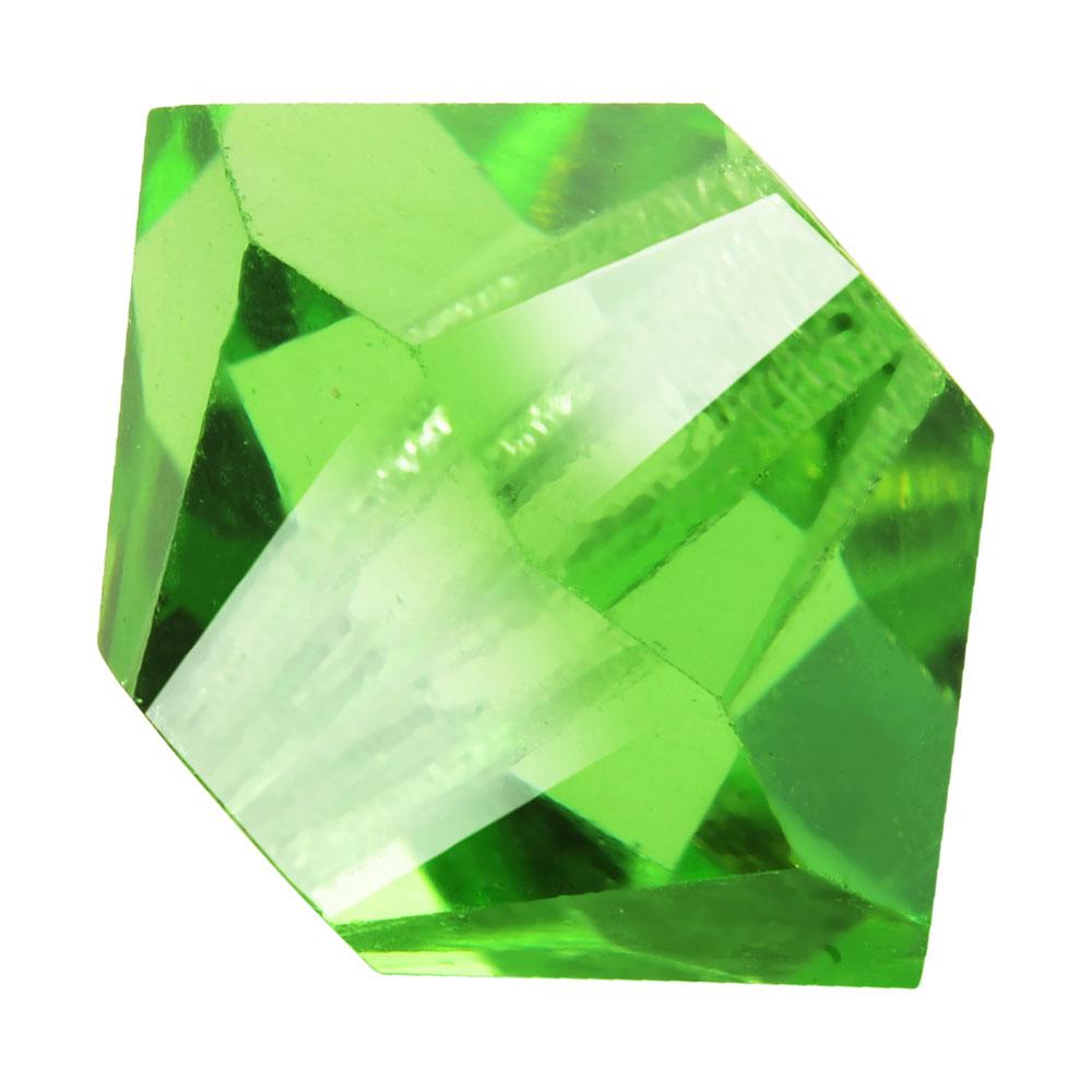 Preciosa Czech Crystal, Bicone Bead 3mm, 36 Pieces, Peridot