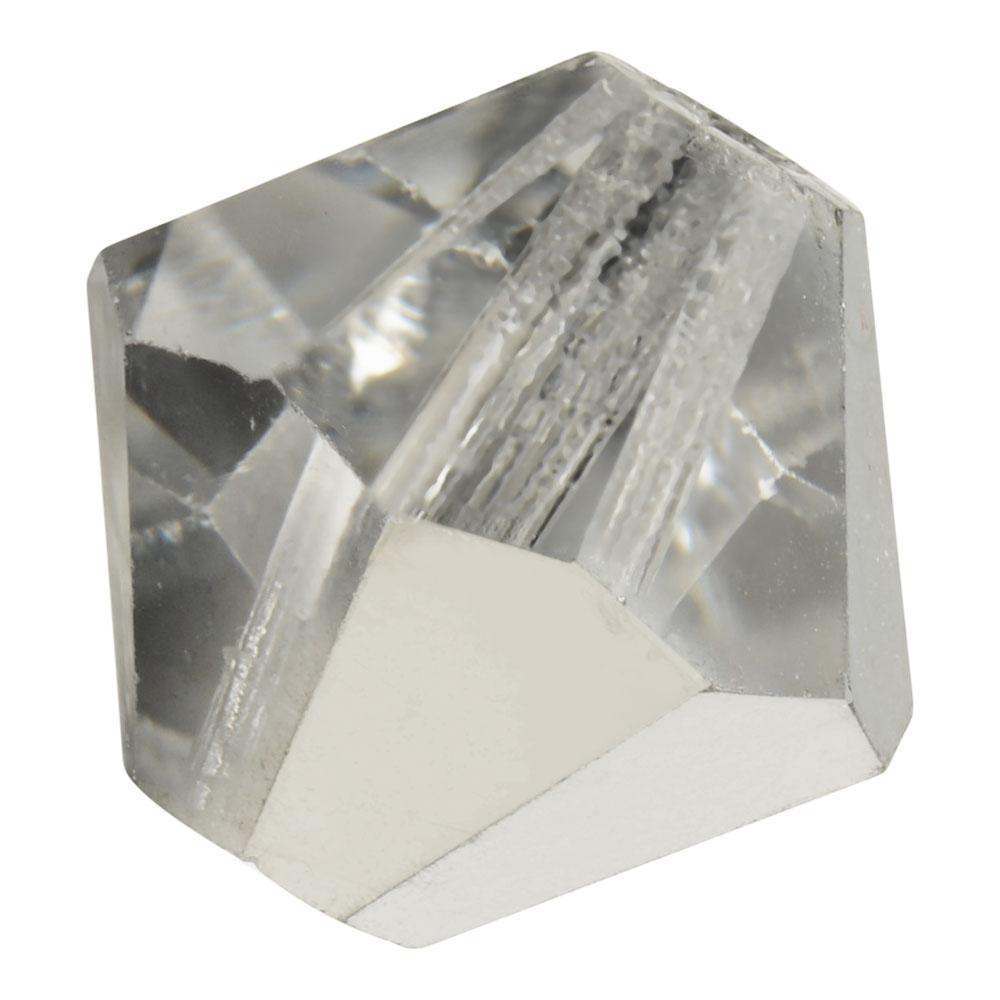 Preciosa Czech Crystal, Bicone Bead 5mm, 32 Pieces, Crystal Labrador Halfcoat