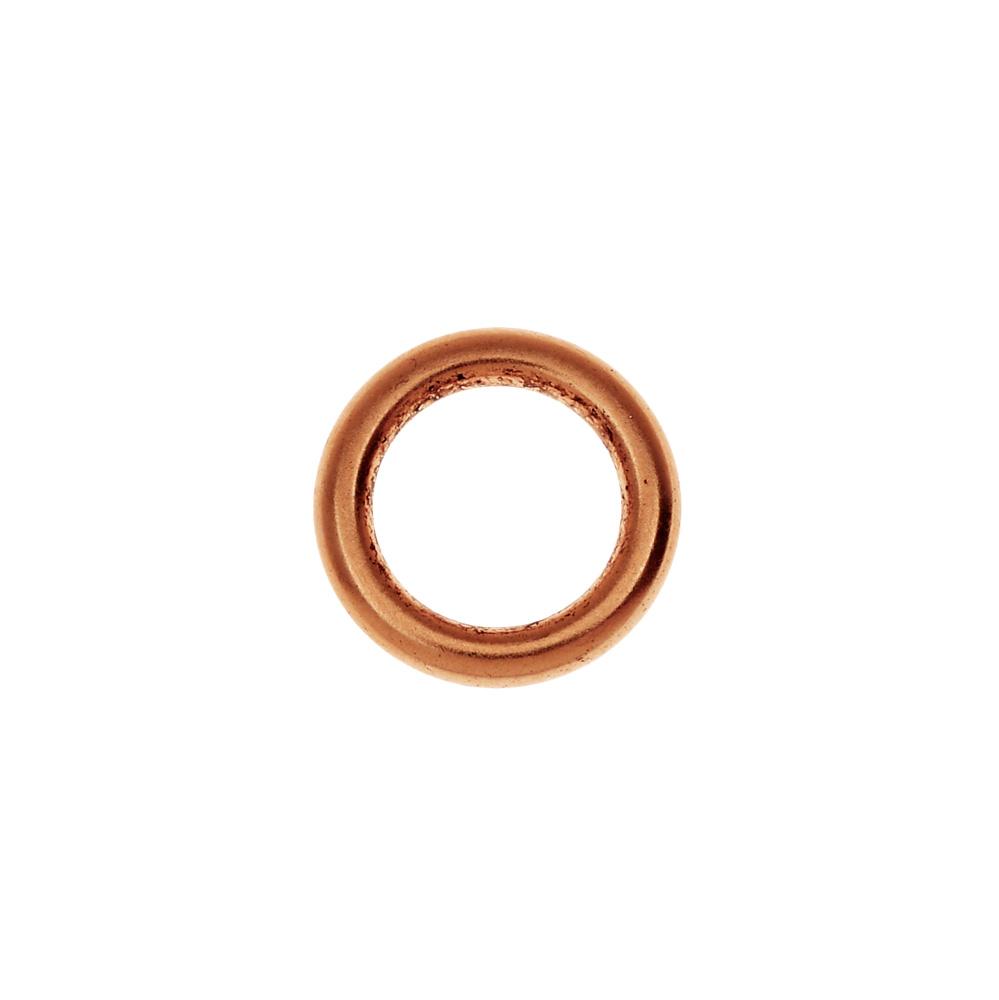 Final Sale - Nunn Design Open Frame, Hoop 12mm, 1 Piece, Antiqued Copper