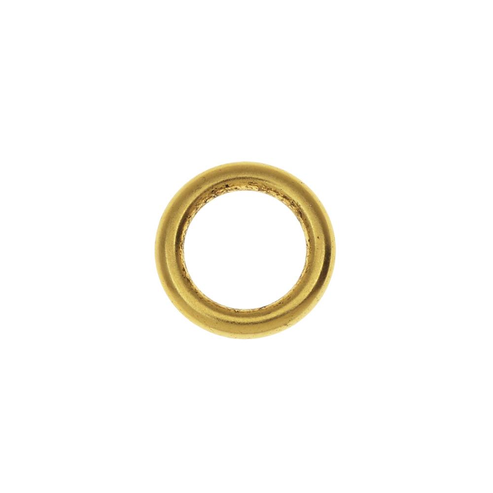 Nunn Design Open Frame, Hoop 12mm, 1 Piece, Antiqued Gold
