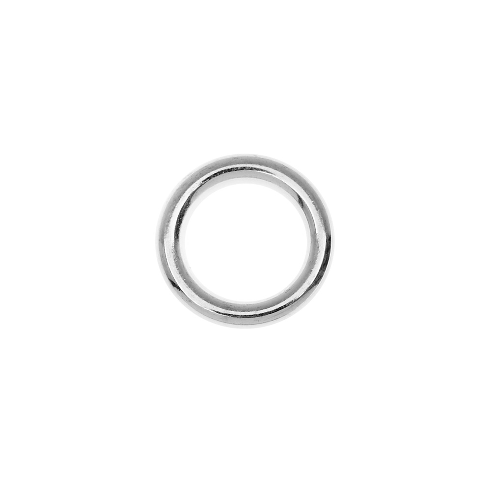 Nunn Design Open Frame, Hoop 12mm, 1 Piece, Bright Silver